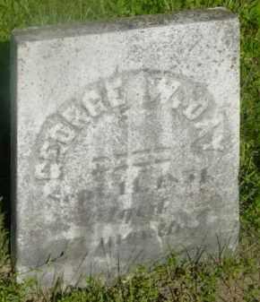 DAY, GEORGE W - Berkshire County, Massachusetts   GEORGE W DAY - Massachusetts Gravestone Photos