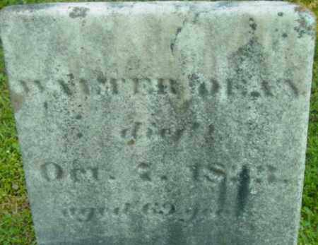 DEAN, WALTER - Berkshire County, Massachusetts   WALTER DEAN - Massachusetts Gravestone Photos
