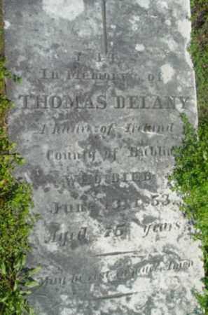 DELANY, THOMAS - Berkshire County, Massachusetts | THOMAS DELANY - Massachusetts Gravestone Photos