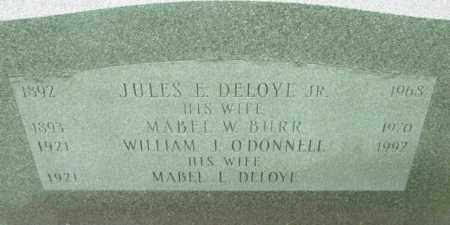 BURR, MABEL W - Berkshire County, Massachusetts | MABEL W BURR - Massachusetts Gravestone Photos