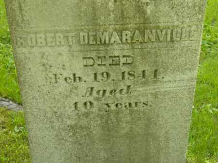 DEMARANVILLE, ROBERT - Berkshire County, Massachusetts | ROBERT DEMARANVILLE - Massachusetts Gravestone Photos