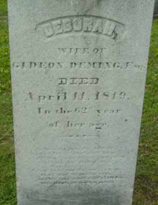 DEMING, DEBORAH - Berkshire County, Massachusetts | DEBORAH DEMING - Massachusetts Gravestone Photos