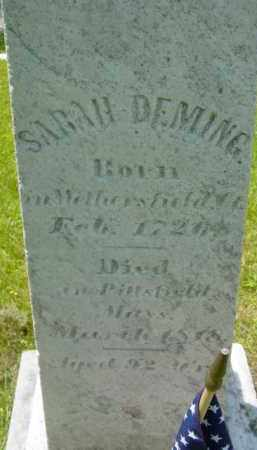 DEMING, SARAH - Berkshire County, Massachusetts | SARAH DEMING - Massachusetts Gravestone Photos