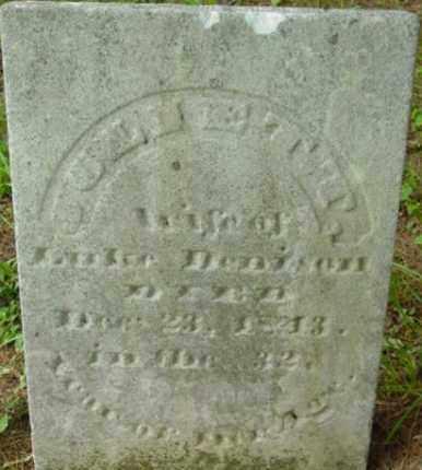 DENISON, JULIETT - Berkshire County, Massachusetts | JULIETT DENISON - Massachusetts Gravestone Photos