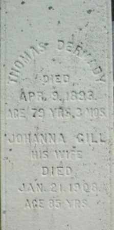 DERMADY, JOHANNA - Berkshire County, Massachusetts | JOHANNA DERMADY - Massachusetts Gravestone Photos