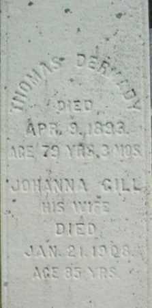 GILL DERMADY, JOHANNA - Berkshire County, Massachusetts   JOHANNA GILL DERMADY - Massachusetts Gravestone Photos