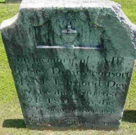 DEWEY, BETSEY - Berkshire County, Massachusetts | BETSEY DEWEY - Massachusetts Gravestone Photos