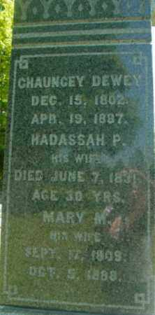 DEWEY, MARY M - Berkshire County, Massachusetts | MARY M DEWEY - Massachusetts Gravestone Photos