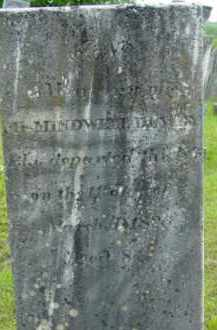 DEWEY, MINDWELL - Berkshire County, Massachusetts | MINDWELL DEWEY - Massachusetts Gravestone Photos