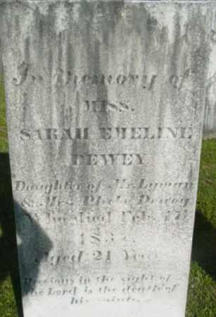DEWEY, SARAH EMELINE - Berkshire County, Massachusetts   SARAH EMELINE DEWEY - Massachusetts Gravestone Photos