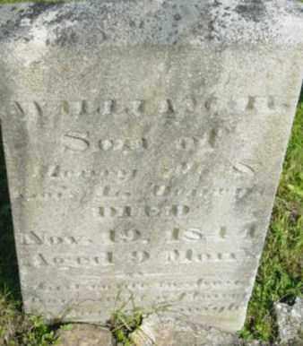 DEWEY, WILLIAM H - Berkshire County, Massachusetts   WILLIAM H DEWEY - Massachusetts Gravestone Photos
