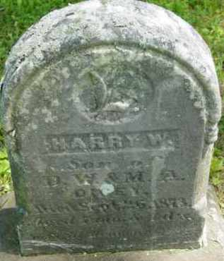 DICEY, HARRY W - Berkshire County, Massachusetts | HARRY W DICEY - Massachusetts Gravestone Photos