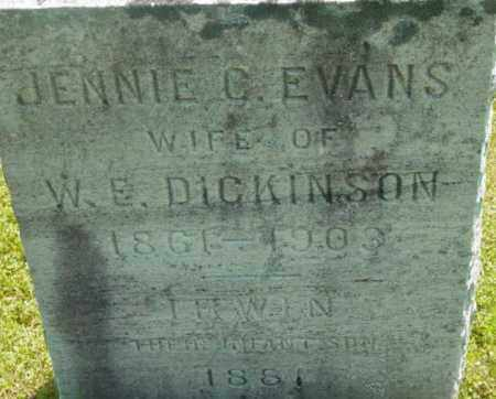DICKINSON, JENNIE C - Berkshire County, Massachusetts   JENNIE C DICKINSON - Massachusetts Gravestone Photos