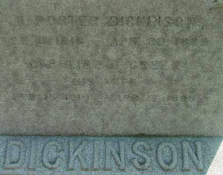 DICKINSON, CAROLINE D - Berkshire County, Massachusetts | CAROLINE D DICKINSON - Massachusetts Gravestone Photos