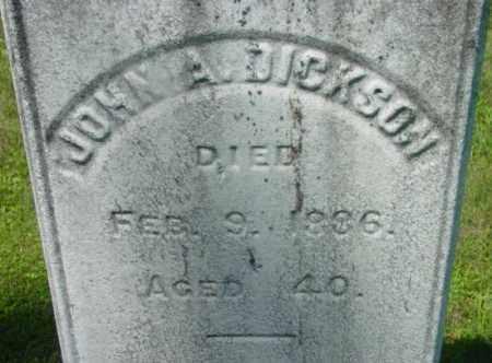 DICKSON, JOHN A - Berkshire County, Massachusetts | JOHN A DICKSON - Massachusetts Gravestone Photos