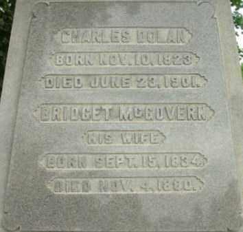 MCGOVERN DOLAN, BRIDGET - Berkshire County, Massachusetts | BRIDGET MCGOVERN DOLAN - Massachusetts Gravestone Photos