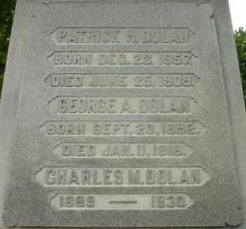 DOLAN, CHARLES M - Berkshire County, Massachusetts | CHARLES M DOLAN - Massachusetts Gravestone Photos