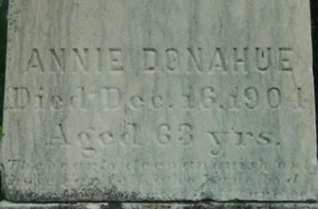 DONAHUE, ANNIE - Berkshire County, Massachusetts | ANNIE DONAHUE - Massachusetts Gravestone Photos