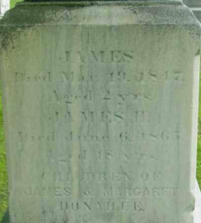 DONAHUE, JAMES, II - Berkshire County, Massachusetts | JAMES, II DONAHUE - Massachusetts Gravestone Photos