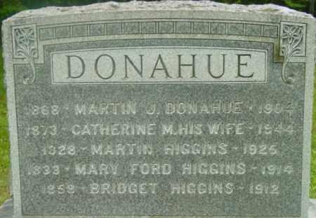 DONAHUE, CATHERINE M - Berkshire County, Massachusetts | CATHERINE M DONAHUE - Massachusetts Gravestone Photos