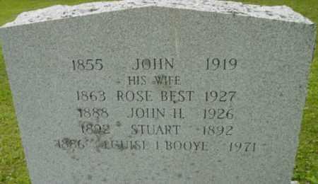 BOOYE, LOUISE I - Berkshire County, Massachusetts | LOUISE I BOOYE - Massachusetts Gravestone Photos