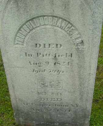 DORRANCE, TRUMBULL - Berkshire County, Massachusetts | TRUMBULL DORRANCE - Massachusetts Gravestone Photos