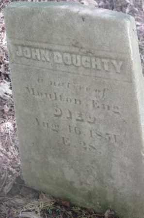 DOUGHTY, JOHN - Berkshire County, Massachusetts | JOHN DOUGHTY - Massachusetts Gravestone Photos