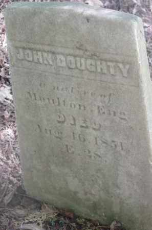 DOUGHTY, JOHN - Berkshire County, Massachusetts | JOHN DOUGHTY - Massachusetts Gravestone Photos