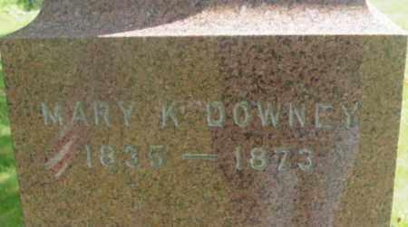DOWNEY, MARY K - Berkshire County, Massachusetts   MARY K DOWNEY - Massachusetts Gravestone Photos