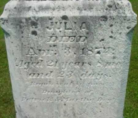 DOYLE, JULIA - Berkshire County, Massachusetts | JULIA DOYLE - Massachusetts Gravestone Photos