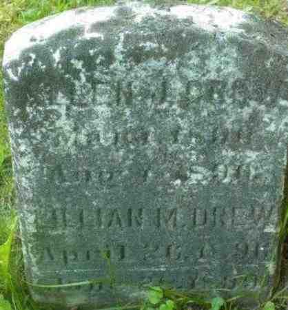 DREW, LILLIAN M - Berkshire County, Massachusetts | LILLIAN M DREW - Massachusetts Gravestone Photos
