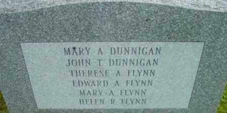DUNNIGAN, MARY A - Berkshire County, Massachusetts | MARY A DUNNIGAN - Massachusetts Gravestone Photos