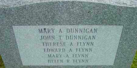 DUNNIGAN, JOHN T - Berkshire County, Massachusetts | JOHN T DUNNIGAN - Massachusetts Gravestone Photos