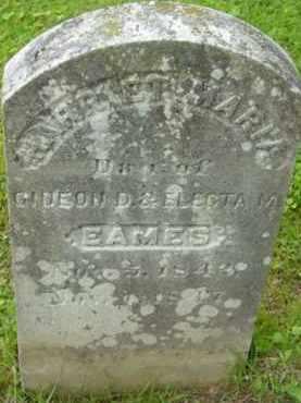 EAMES, HARRIET MARIA - Berkshire County, Massachusetts | HARRIET MARIA EAMES - Massachusetts Gravestone Photos