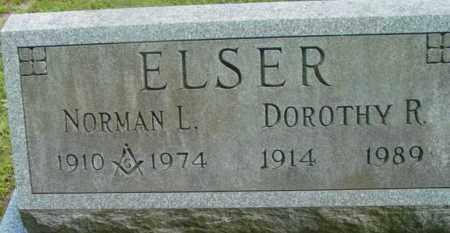 ELSER, NORMAN L - Berkshire County, Massachusetts | NORMAN L ELSER - Massachusetts Gravestone Photos