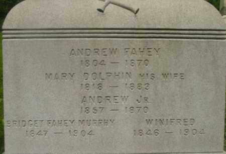 FAHEY, ANDREW - Berkshire County, Massachusetts | ANDREW FAHEY - Massachusetts Gravestone Photos