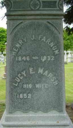 FARNUM, HENRY J - Berkshire County, Massachusetts   HENRY J FARNUM - Massachusetts Gravestone Photos