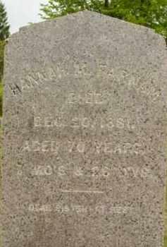 FARNUM, HANNAH M - Berkshire County, Massachusetts   HANNAH M FARNUM - Massachusetts Gravestone Photos