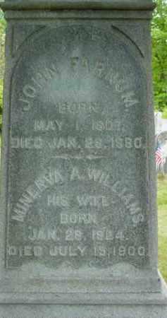 FARNUM, MINERVA A - Berkshire County, Massachusetts | MINERVA A FARNUM - Massachusetts Gravestone Photos
