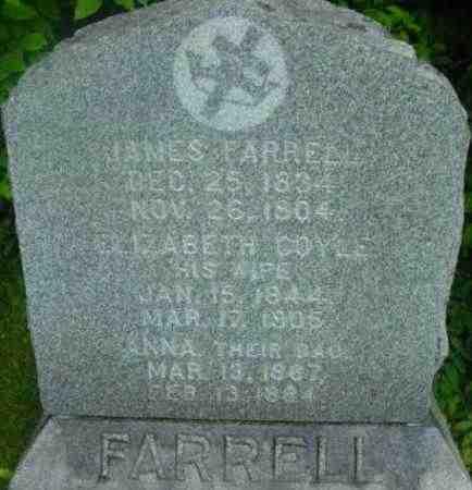 FARRELL, ANNA - Berkshire County, Massachusetts | ANNA FARRELL - Massachusetts Gravestone Photos