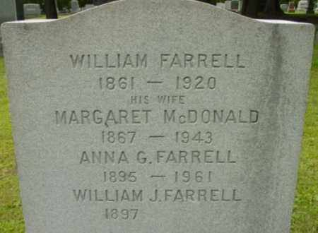 MCDONALD, MARGARET - Berkshire County, Massachusetts | MARGARET MCDONALD - Massachusetts Gravestone Photos