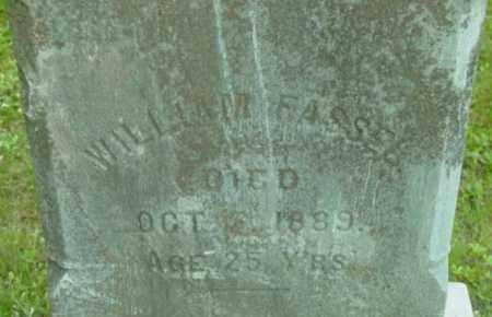 FASSEL, WILLIAM - Berkshire County, Massachusetts | WILLIAM FASSEL - Massachusetts Gravestone Photos
