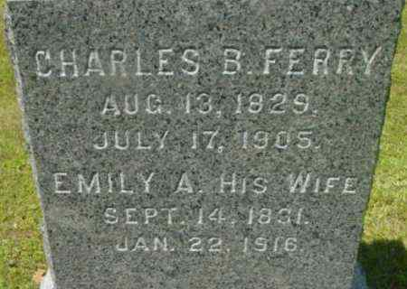 FERRY, CHARLES B - Berkshire County, Massachusetts | CHARLES B FERRY - Massachusetts Gravestone Photos