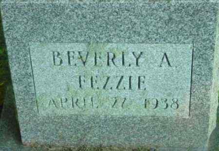 FEZZIE, BEVERLY A - Berkshire County, Massachusetts | BEVERLY A FEZZIE - Massachusetts Gravestone Photos