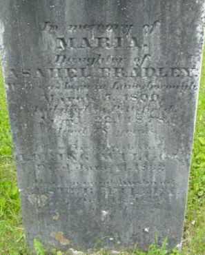 BRADLEY FILLEY, MARIA - Berkshire County, Massachusetts | MARIA BRADLEY FILLEY - Massachusetts Gravestone Photos