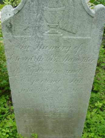 FISK, ELIZABETH B - Berkshire County, Massachusetts   ELIZABETH B FISK - Massachusetts Gravestone Photos