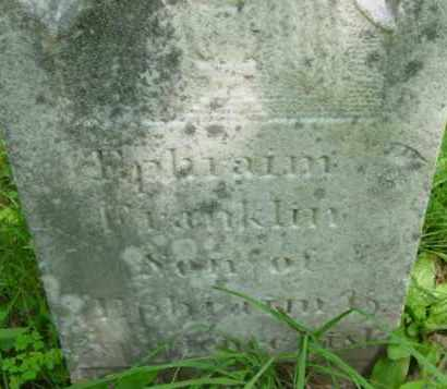 FISK, EPHRAIM FRANKLIN - Berkshire County, Massachusetts | EPHRAIM FRANKLIN FISK - Massachusetts Gravestone Photos