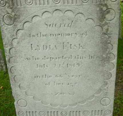 FISK, LYDIA - Berkshire County, Massachusetts   LYDIA FISK - Massachusetts Gravestone Photos