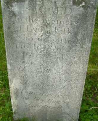 FISK, LYDIA - Berkshire County, Massachusetts | LYDIA FISK - Massachusetts Gravestone Photos