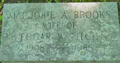 BROOKS, MARJORIE A - Berkshire County, Massachusetts | MARJORIE A BROOKS - Massachusetts Gravestone Photos